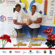 April 16th Mother Allana Samuel - PCD Dear Mom. Daily winner