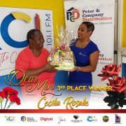 3rd place winner Mother Cecilia Rosalie