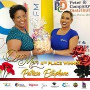 4th place winner Mother Patricia Estephane
