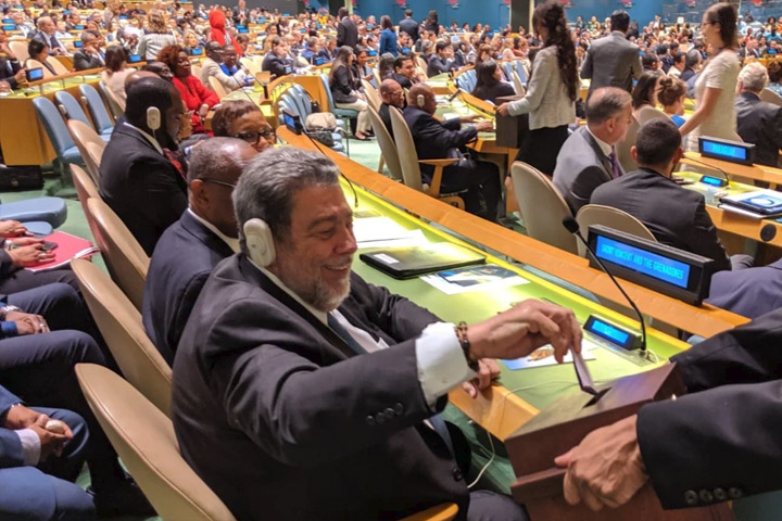 SVG on historic election to the UN Security Council