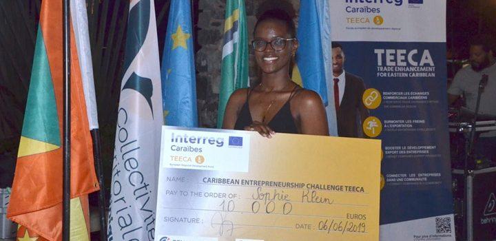 Sophie Klein wins TEECA Challenge