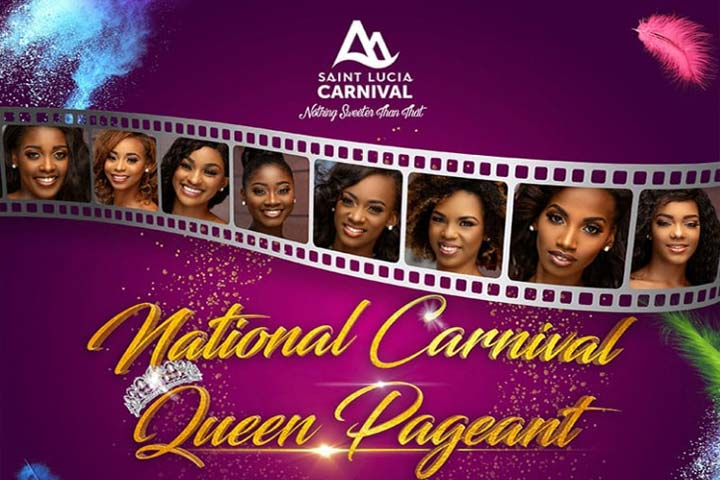 St Lucia Carnival Queen Show