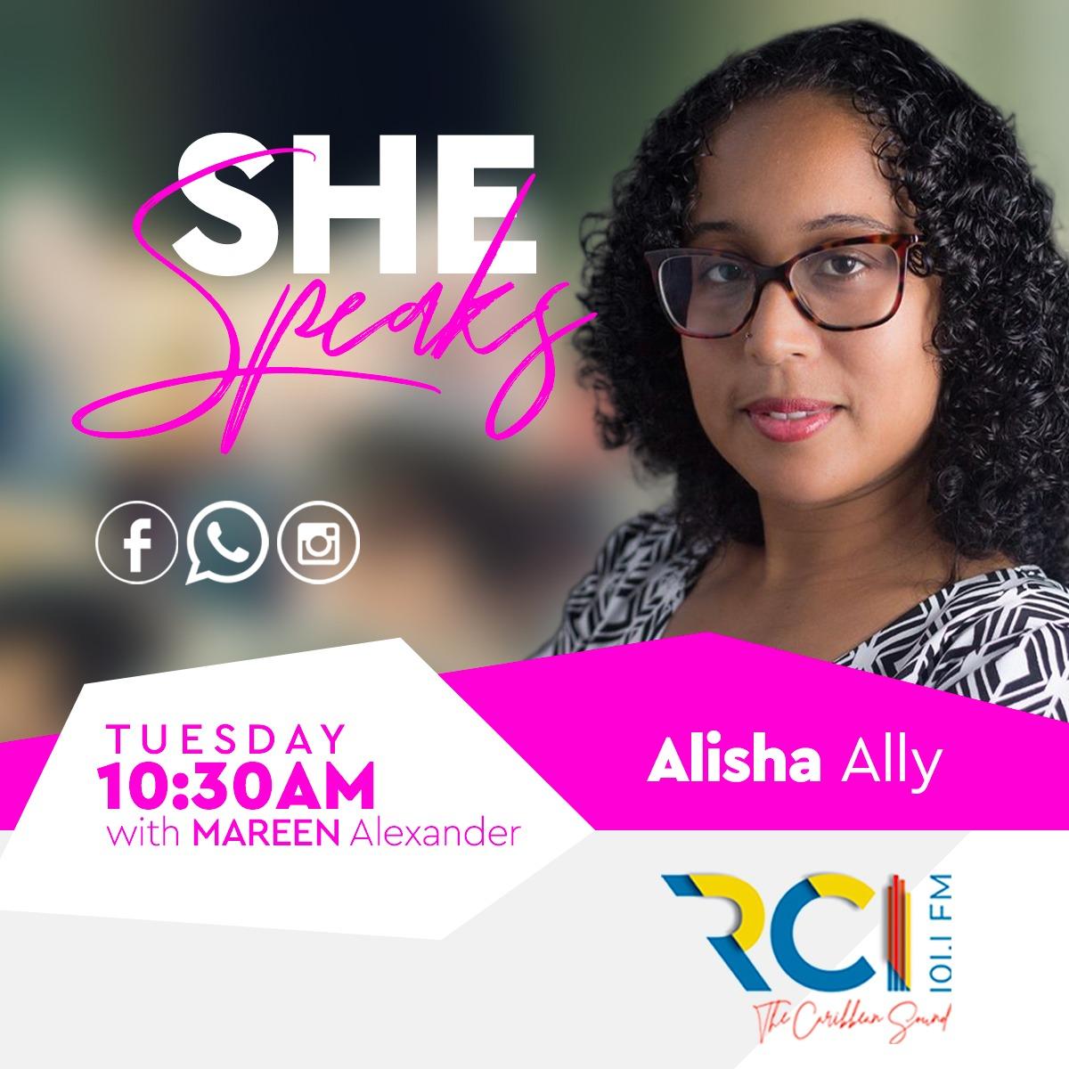 RCI - SHE Speaks - Alisha Ally