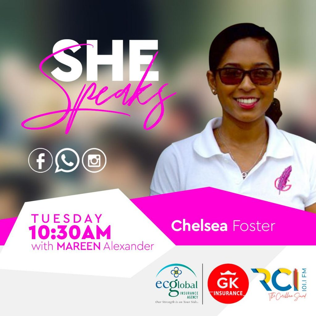 RCI - SHE Speaks | Guest: Chelsea Foster