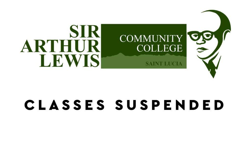SALCC classes suspended