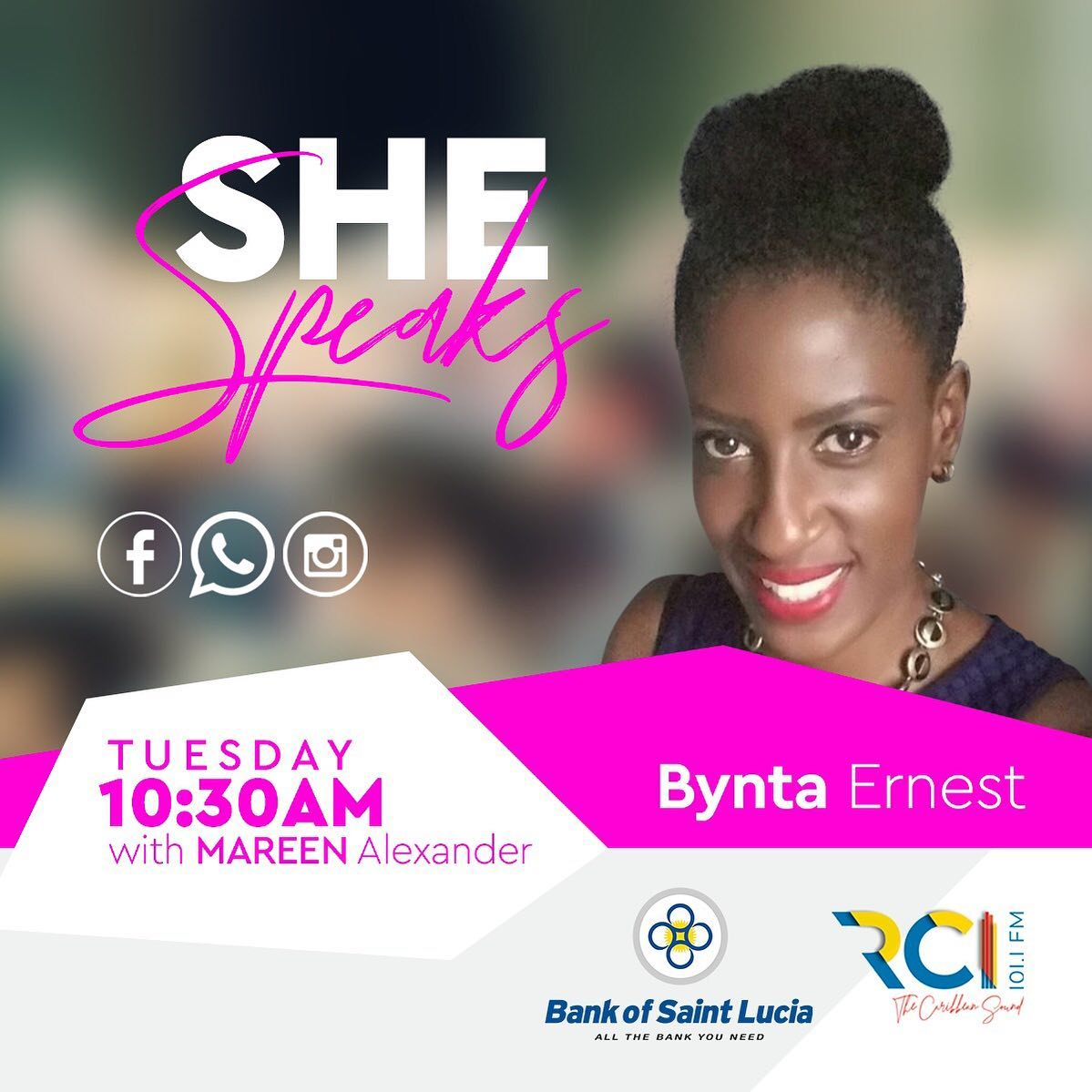 RCI She Speaks - Bynta Ernest