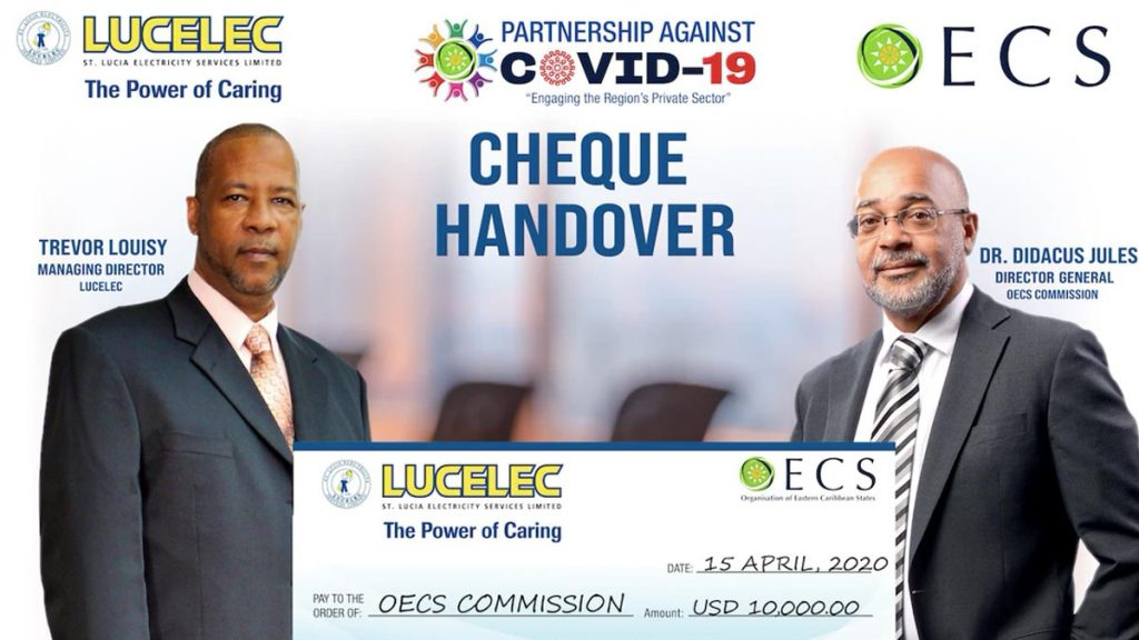 LUCELEC supports Education through OECS' COVID-19 Response
