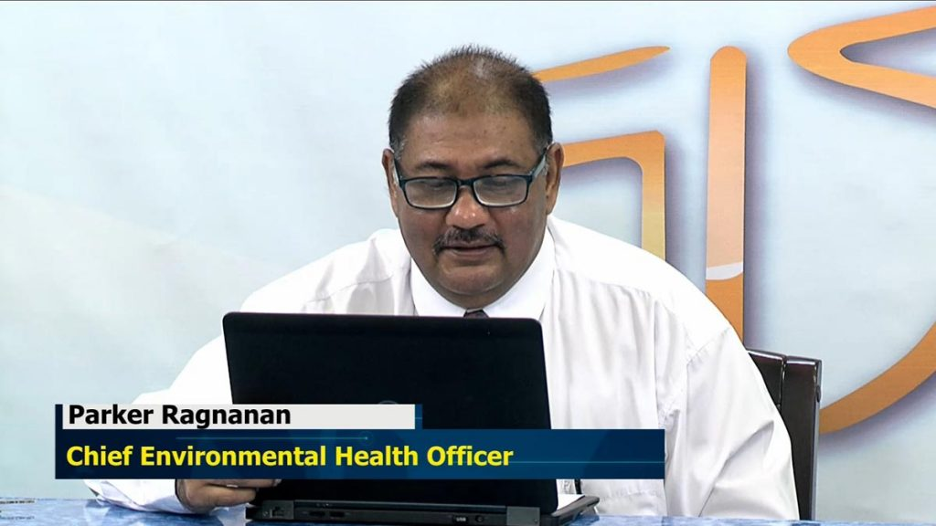 Public Health Act by Chief Environmental Health Officer Mr. Parker Ragnanan
