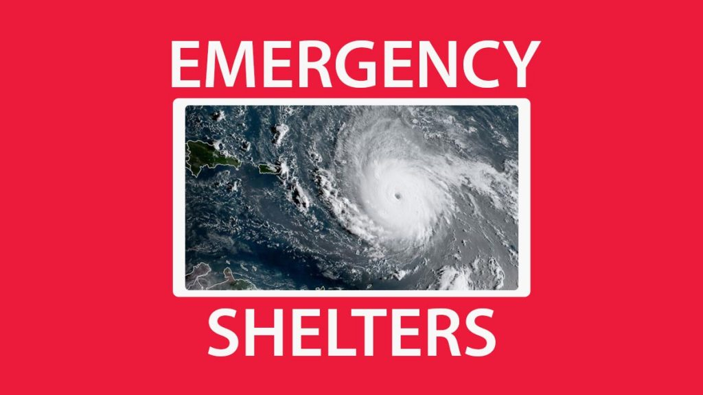 List of Emergency Shelters