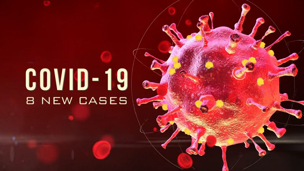 8 New Cases of COVID-19