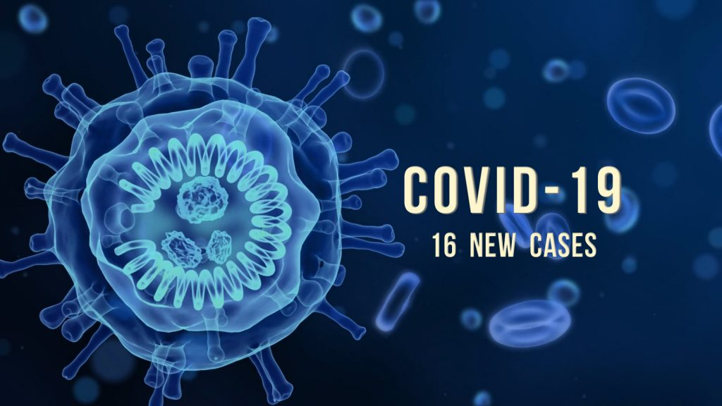 16 new COVID-19 cases