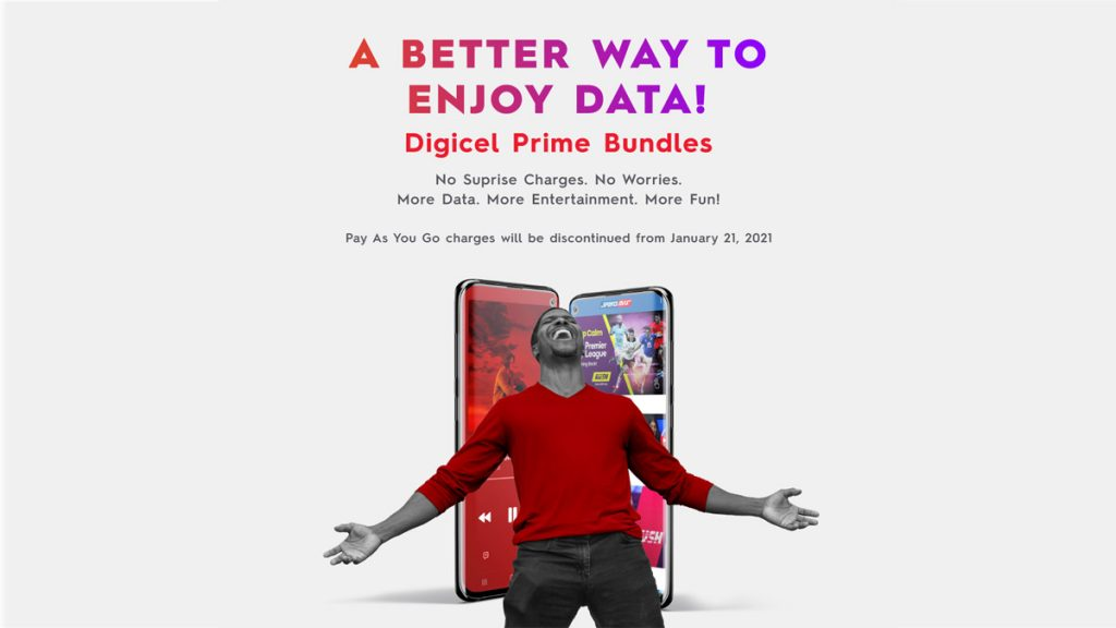 Digicel gives customers a better way to enjoy data