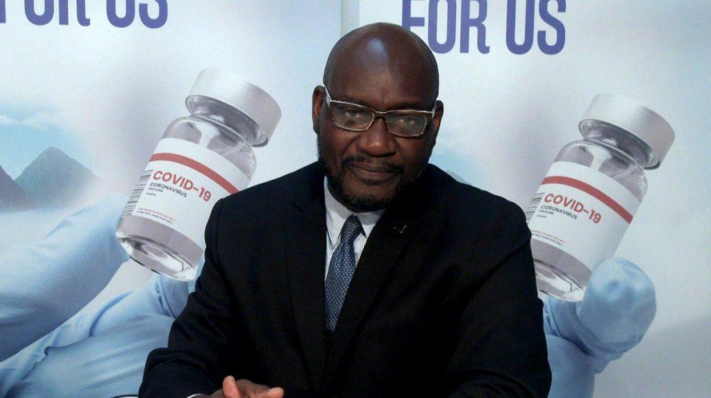 Minister for Health, Wellness and Elderly Affairs - Hon. Moses Jn Baptiste